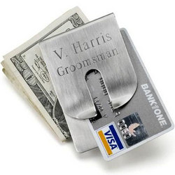 Art Form Money Clip and Wallet