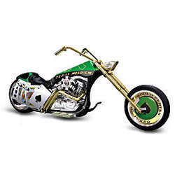 Texas Hold 'Em Chopper Figurine