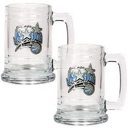 Orlando Magic Glass Mug Set