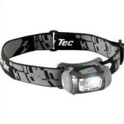 Black with White LED Headlamp