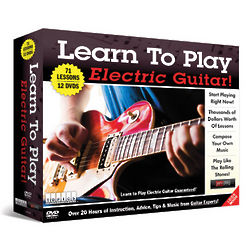 Learn to Play Electric Guitar DVD Set