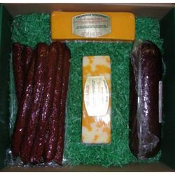 Wisconsin Sausage and Cheese Sampler Assortment