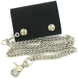 Shameless Kevin's Leather Chain Wallet