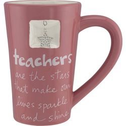 Teachers are the Stars Charm Mug