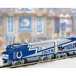 Indianapolis Colts Super Bowl Electric Train Set Collection
