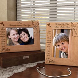 My Angel Mother Wooden Picture Frame