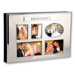 Three-in-One Wedding Album