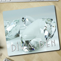 Diamond Diva Den Mousepad