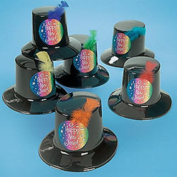 New Year's Top Hats