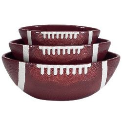 Touchdown Serving Bowl Set