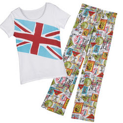 Travel Postcard Sleepwear Set