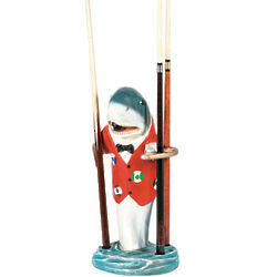 Shark Pool Cue Rack