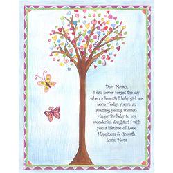 Happy Tree Personalized Print