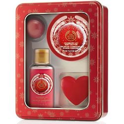 Cranberry Joy Shower and Moisture Gift Tin