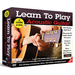 Learn to Play Acoustic Guitar DVD Set
