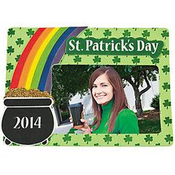 2014 St. Patrick's Day Photo Frame Magnet Craft Kits