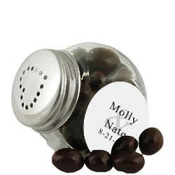 Mini Heart Salt and Pepper Jar Shakers