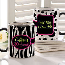 Flirty-Licious Personalized Coffee Mug