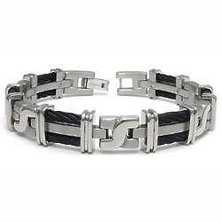 Shameless Kevin's Titanium Black Cable Link Bracelet