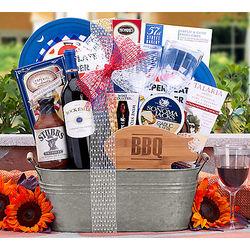 Rock Falls Cabernet BBQ Collection Gift Basket