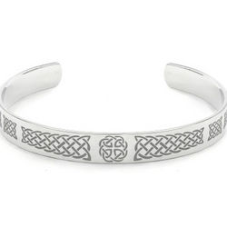 Celtic Knotwork Cuff Bracelet