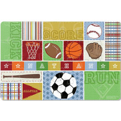 Kick, Score, Run Personalized Kid's Puzzle