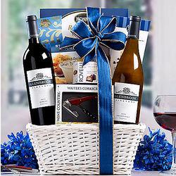 Glenbrook Vineyards Double Delight Gift Basket