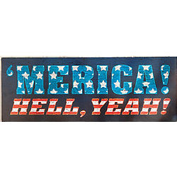 'Merica Wall Sign