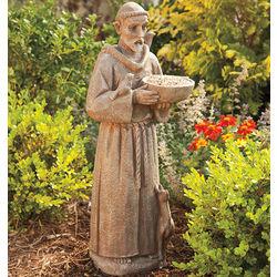 Saint Francis of Assisi Garden Bird Feeder Statue