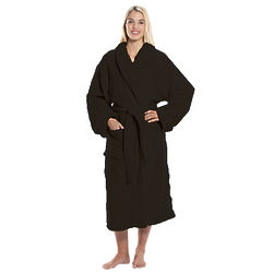 Personalized Super Plush Midnight Black Robe