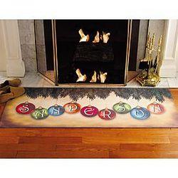 Personalized Ornament Design Doormat Runner