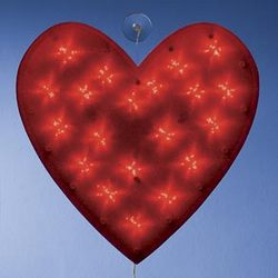 Valentine Shimmer Heart Light