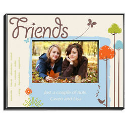 Personalized Friends Nature's Song Picture Frame
