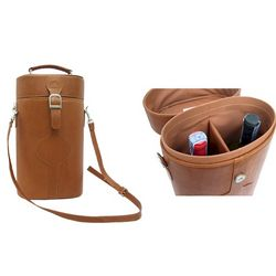 Double Leather Wine Carriers