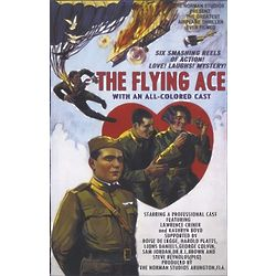 The Flying Ace Personalized Movie Poster