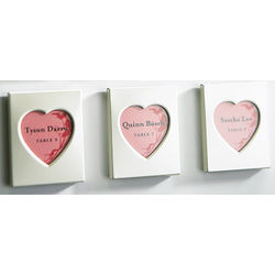Magnet Heart Photo Frames