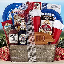 Virgil's Root Beer Barbecue Gift Basket