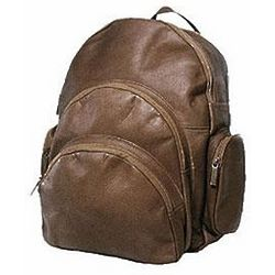 Vaquetta Leather Expandable Backpack