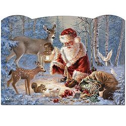 Woodland Christmas Advent Calendar