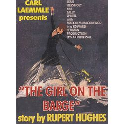 The Girl on the Barge Personalized Movie Poster
