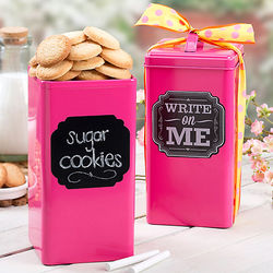 Pink Summer Cookie Tin