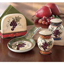 4-Piece Marciana Grape Stovetop Set