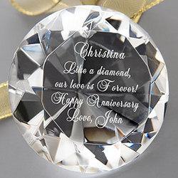 She's A Precious Gem!© Diamond Keepsake