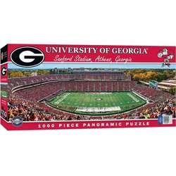 Georgia Panoramic Stadium 1,000-Piece Jigsaw Puzzle