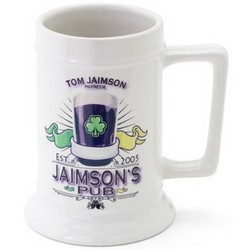 Personalized 16 oz. Beer Stein