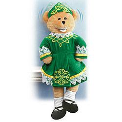 Shannon Sings 'Irish Eyes are Smiling' Plush Bear
