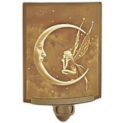 Fairy Moon Lithophane Night Light