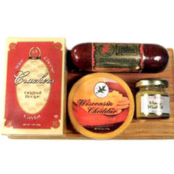 Wisconsin Delights Cheese and Sausage Gift