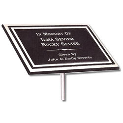 Personalized Garden Plaque with Stake