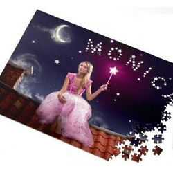 Fairy Princess Personalized Jigsaw Puzzle